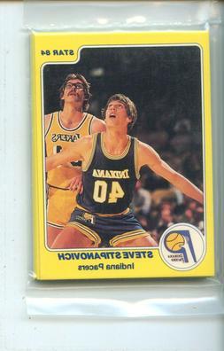 1983-84 Star Indiana Pacers 12 Card Original Sealed Team Set