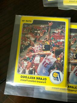 1984-1985 STAR CO INDIANA PACERS FACTORY SEALED TEAM SET KEL