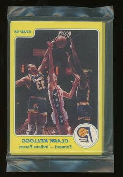 1984-85 Star Basketball Indiana Pacers Complete Sealed Team