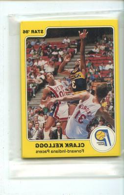 1985-86 Star Indiana Pacers 7 Card Original Sealed Team Set