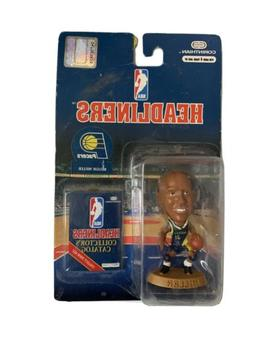"1997 Reggie Miller 3"" Headliners Sports Figurine~ Indiana Pa"