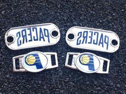 2 ~ Indiana Pacers NBA Paracord Charms Oval or Mini Dog Tag