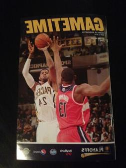 2014 Indiana Pacers Playoff Gametime Program Magazine Featur