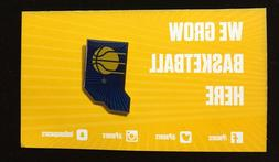 2018 indiana pacers nba basketball pinback lapel