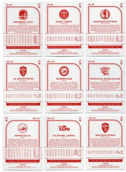 2019-20 Hoops Red Backs Parallel Pick Any Complete Your Set