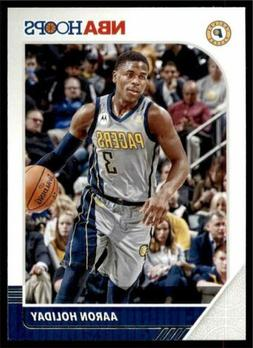 2019-20 Panini NBA Hoops Base #74 Aaron Holiday - Indiana Pa