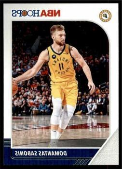 2019-20 Panini NBA Hoops Base #76 Domantas Sabonis - Indiana