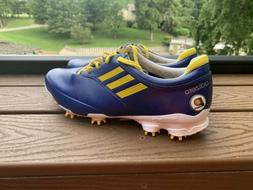 Adidas Adizero Golf Shoes Mens Sz 13 Blue Yellow Indiana Pac