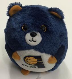 Ty Beanie Ballz NBA INDIANA PACERS RARE & RETIRED HTF Basket