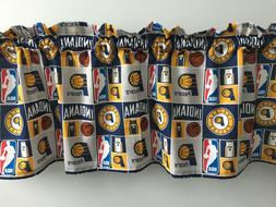 Clearance!! Indiana Pacers Basketball Sports Handmade Valanc