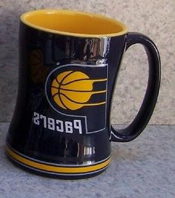 Coffee Mug Sports NBA Indiana Pacers NEW 14 ounce cup with g