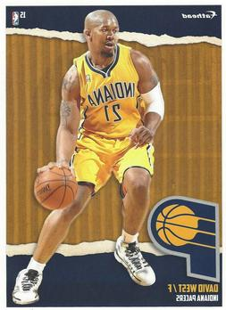 DAVID WEST FATHEAD TRADEABLES INDIANA PACERS XAVIER MUSKETEE
