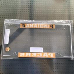 FANMATS Indiana Pacers Chrome License Plate Frame