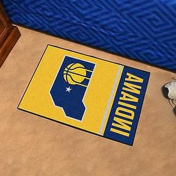 FANMATS Indiana Pacers Uniform Inspired Starter Rug