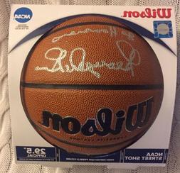 George Mcginnis Indiana Pacers Hoosiers 76ers Signed NCAA Ba
