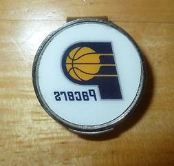 "Indiana Pacers 1"" Golf Ball Marker with Hat Clip NBA Officia"