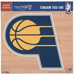 """Indiana Pacers 12"""" x 12"""" Car Magnet"""