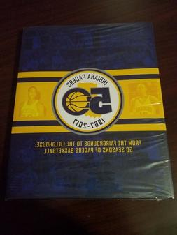 Indiana Pacers 1967 - 2017 50th Anniversary Season Ticket Ho