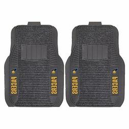 Indiana Pacers 2-Piece Deluxe Auto Floor Mats - Car, Truck,