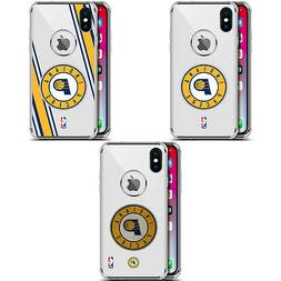 NBA INDIANA PACERS 2 SILVER SHOCKPROOF FENDER CASE FOR iPHON