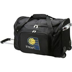 "Indiana Pacers 22"" 2-Wheeled Duffel Bag - Black"