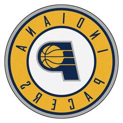 """Indiana Pacers 27"""" Roundel Area Rug Floor Mat"""