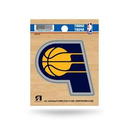 """Indiana Pacers 3"""" x 3"""" Die-Cut Decal Window, Car or Laptop!"""