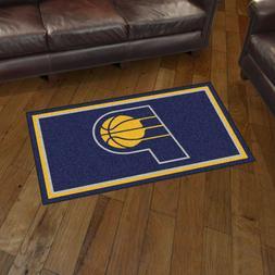 Indiana Pacers 3' X 5' Decorative Ultra Plush Carpet Area Ru