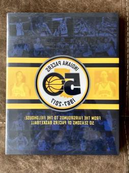 Indiana Pacers 50th Anniversary Season Ticket Holder Hardbac