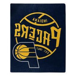 Indiana Pacers 50x60 Blacktop Design Raschel Throw Blanket