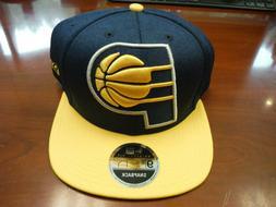 Indiana Pacers New Era 9FIFTY Snapback Hat BLUE & YELLOW Ori