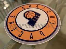 Indiana Pacers Basketball Team Logo NBA Sticker Decal Vinyl
