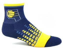 Indiana Pacers Basketball Yellow and Navy Digi Square Quarte