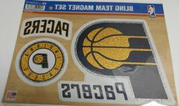Indiana Pacers Bling 3 piece Team Magnet Set.     #588