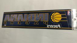 Indiana Pacers Bumper Strip Sticker