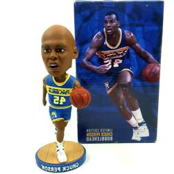 Indiana Pacers Chuck Person 50th Anniversary Bobblehead with