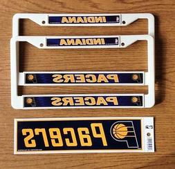 "INDIANA ""PACERS"" DECAL / STICKER PLUS  LICENSE PLATE FRAMES"