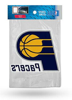 Indiana Pacers Die Cut Static Cling Decal Sticker 5X4 Inches