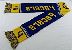 Indiana Pacers NBA Double Sided Yellow & Blue 100% Acrylic A
