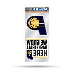Indiana Pacers Double UP Decal Sheet Slogan Sticker Auto Hom