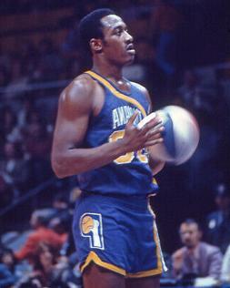 Indiana Pacers GEORGE MCGINNIS Glossy 8x10 Photo ABA Basketb