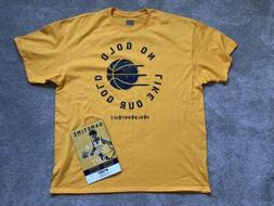 Indiana Pacers Gold Don't Quit Boston Celtics Sz XL Oladip