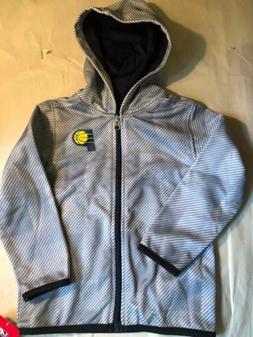 Indiana Pacers Gray Zip Up Hoodie Sweatshirt Toddler Size 4T