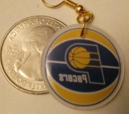Indiana Pacers Handmade Earrings 1 pair. YOU PICK