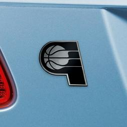 Indiana Pacers Heavy Duty Metal 3-D Chrome Auto Emblem