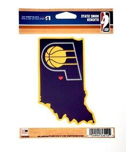 Indiana Pacers Home State Sticker Flat Die Cut Decal Emblem