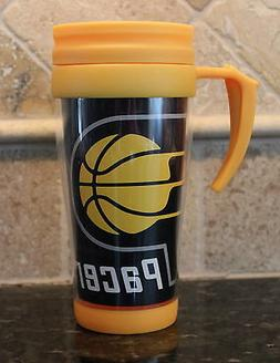 Indiana Pacers Insulated Travel Mug NBA Basketball 16oz Coff