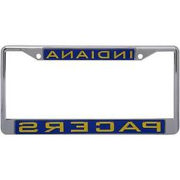 Indiana Pacers WinCraft Laser Inlaid Metal License Plate Fra