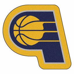 Indiana Pacers Mascot Decorative Logo Cut Area Rug Floor Mat