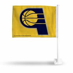 Indiana Pacers NBA 11X14 Window Mount 2-Sided Car Flag